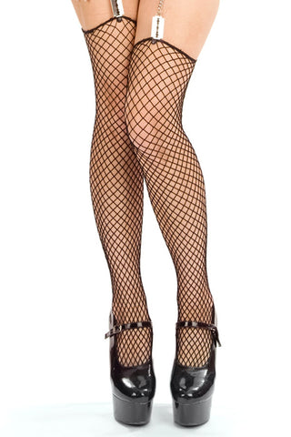Diamond Net Stockings