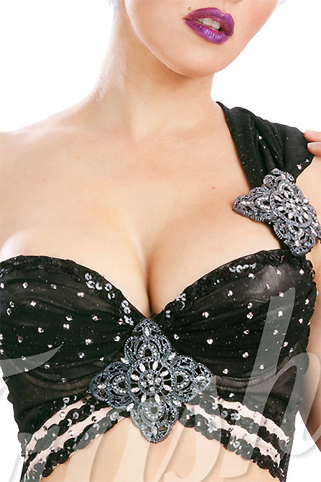 Siren Bra with Rhinestones