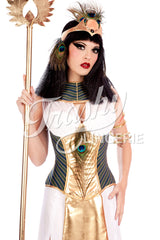 Covered Cleopatra Corset