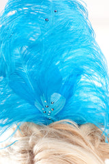 Sequined Showgirl Headpiece