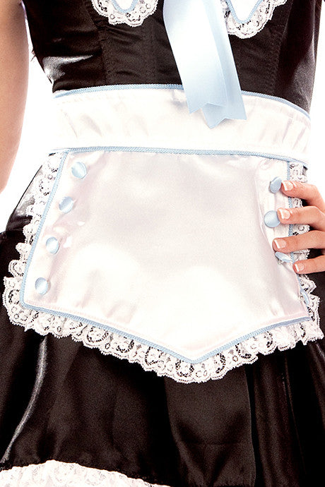 Blue Maid Apron