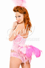 Sequined Showgirl Tail