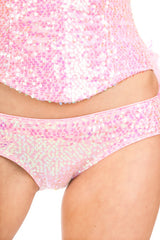 Sequined Showgirl Boom Boom Panty