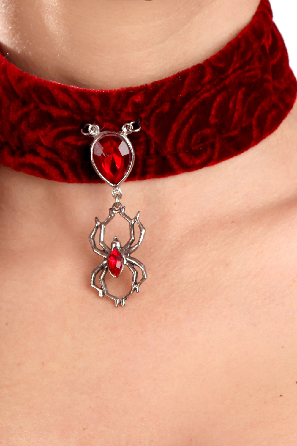 Velvet DuBarry Spider Choker