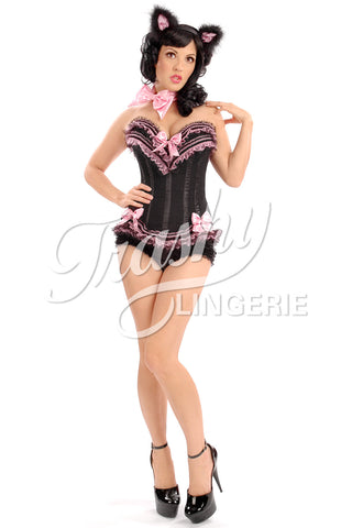 Carousel Black Cat Corset