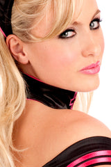 Satin Nurse Choker