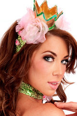 Frog Princess Crown Headband