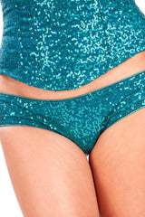 Sequined Peacock Boom Boom Panty