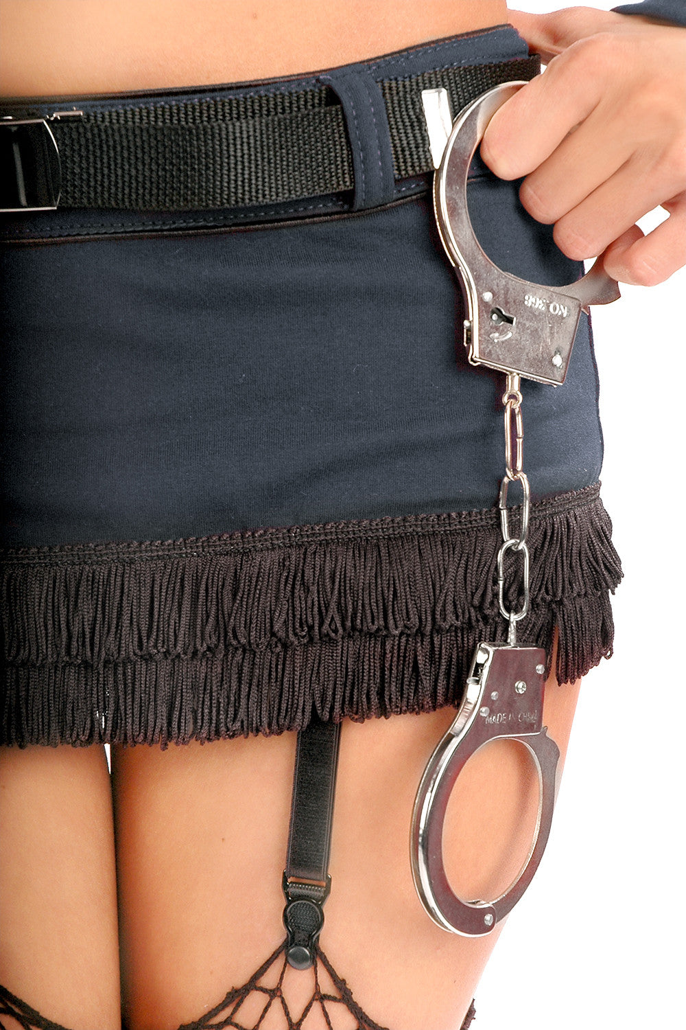 Burlesque Cop Skirt with Belt