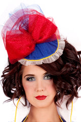Glitter Snow White Fascinator