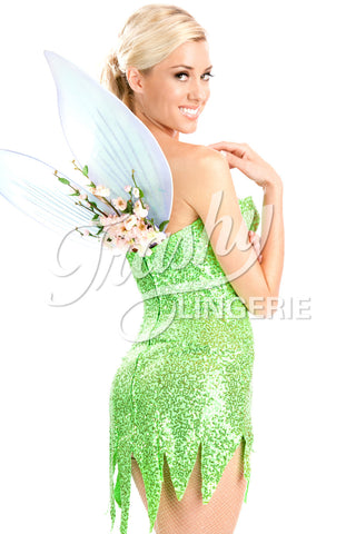 Sequined Tink Dress