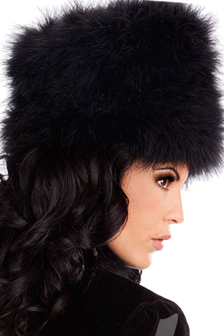 Black Russian Hat