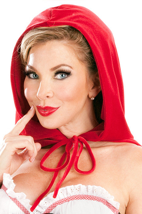 Bridgette Red Riding Hood Cape
