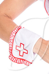 Ruffled Nurse Wrist Cuffs