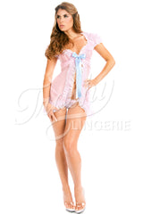 Carousel Short Robe