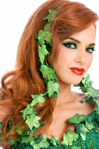 Poison Ivy Headpiece/Arm Wrap