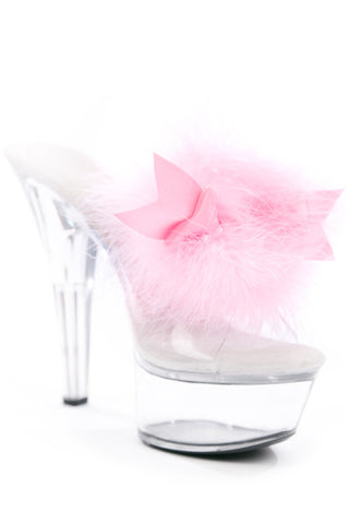 Sex Kitten Shoe Clips Light Pink