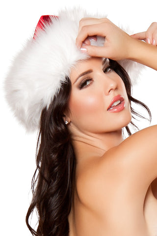 Fur Trimmed Santa Hat
