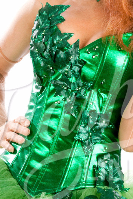 Poison Ivy Deluxe Corset