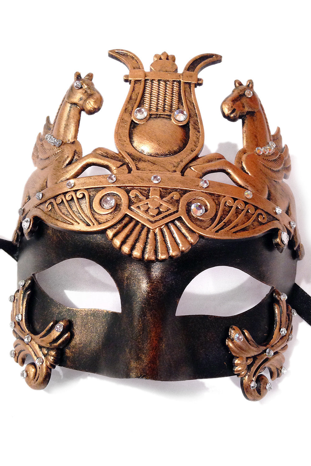 Black/Copper Mazzaro Mask