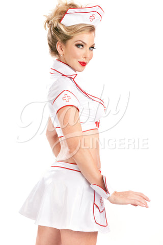 Buckle Nurse Top