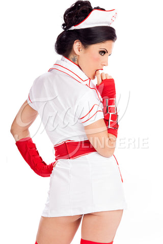 Buckle Nurse Dress