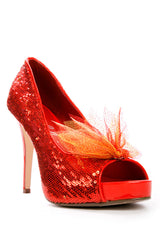 Girl on Fire Shoe Clips