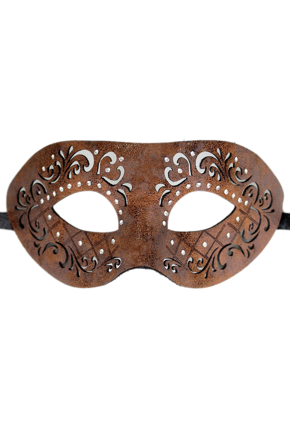 Yolanda Leather Eye Mask