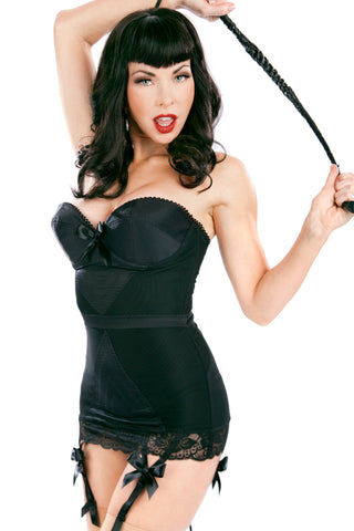 Corazon Stretch Corset with Bullet Cups