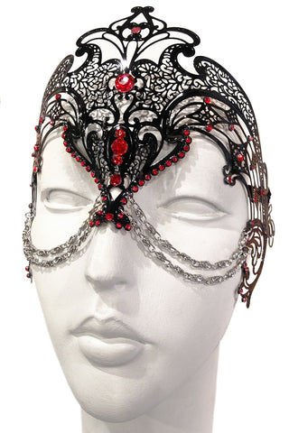 Black/Red Zamari Mask
