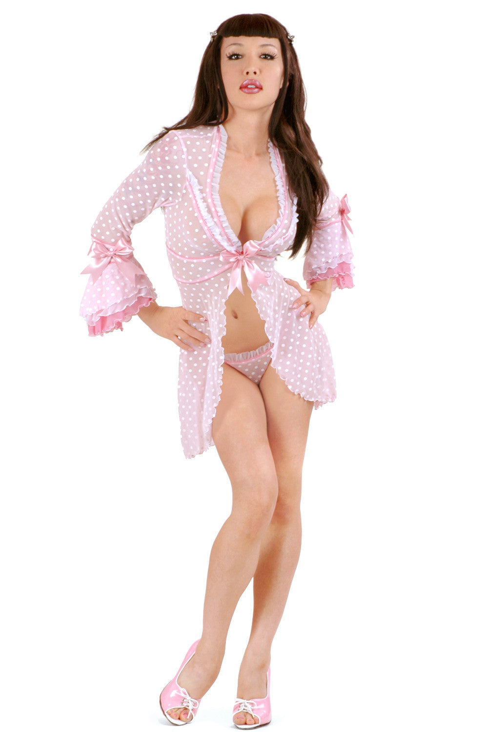 Créme Chantilly Short Robe