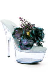 Dark Fairy Shoe Clips