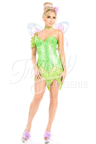 Fringe Tink Dress