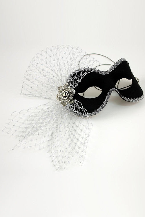 Black/Silver Elaine Mask