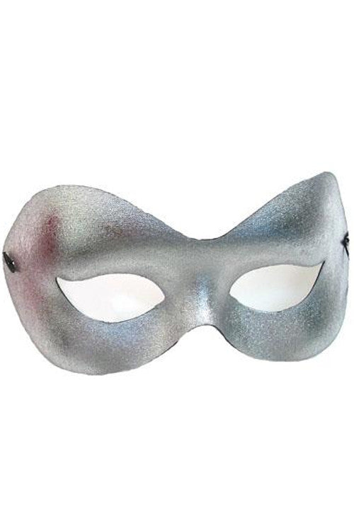 Silver Fashion Mask