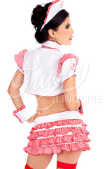 Ruffled Nurse Bolero