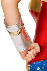 Silver/Gold Studded Gauntlets