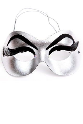 Silver Eye Lash Mask