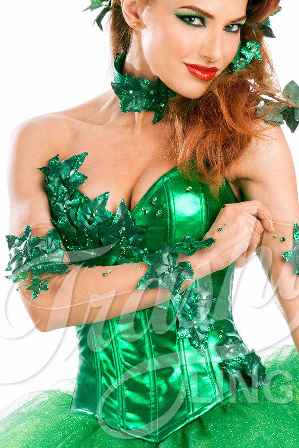 Poison Ivy Deluxe Gloves