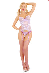 Créme Chantilly Underwire Camigarter