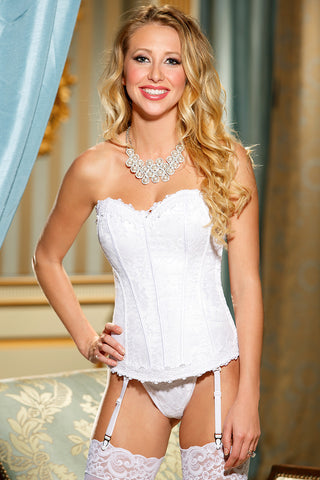 Ultimate Lace Corset White