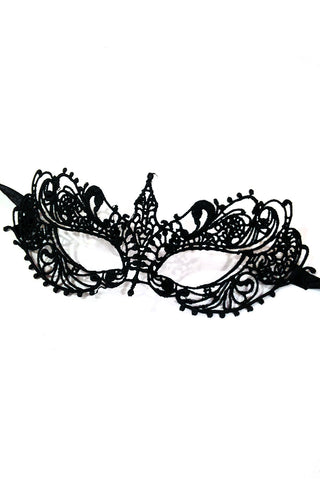 Black Molded Lace Eye Mask I