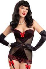 Corazon Strapless Stretch Corset