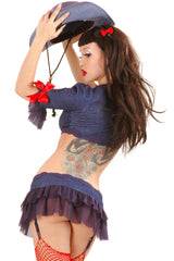Peppermint Garter Skirt