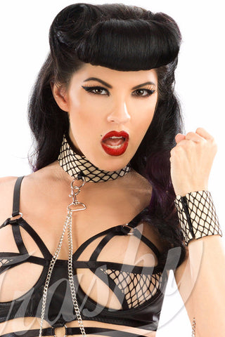 Vesper Collar with Cuffs and Chain