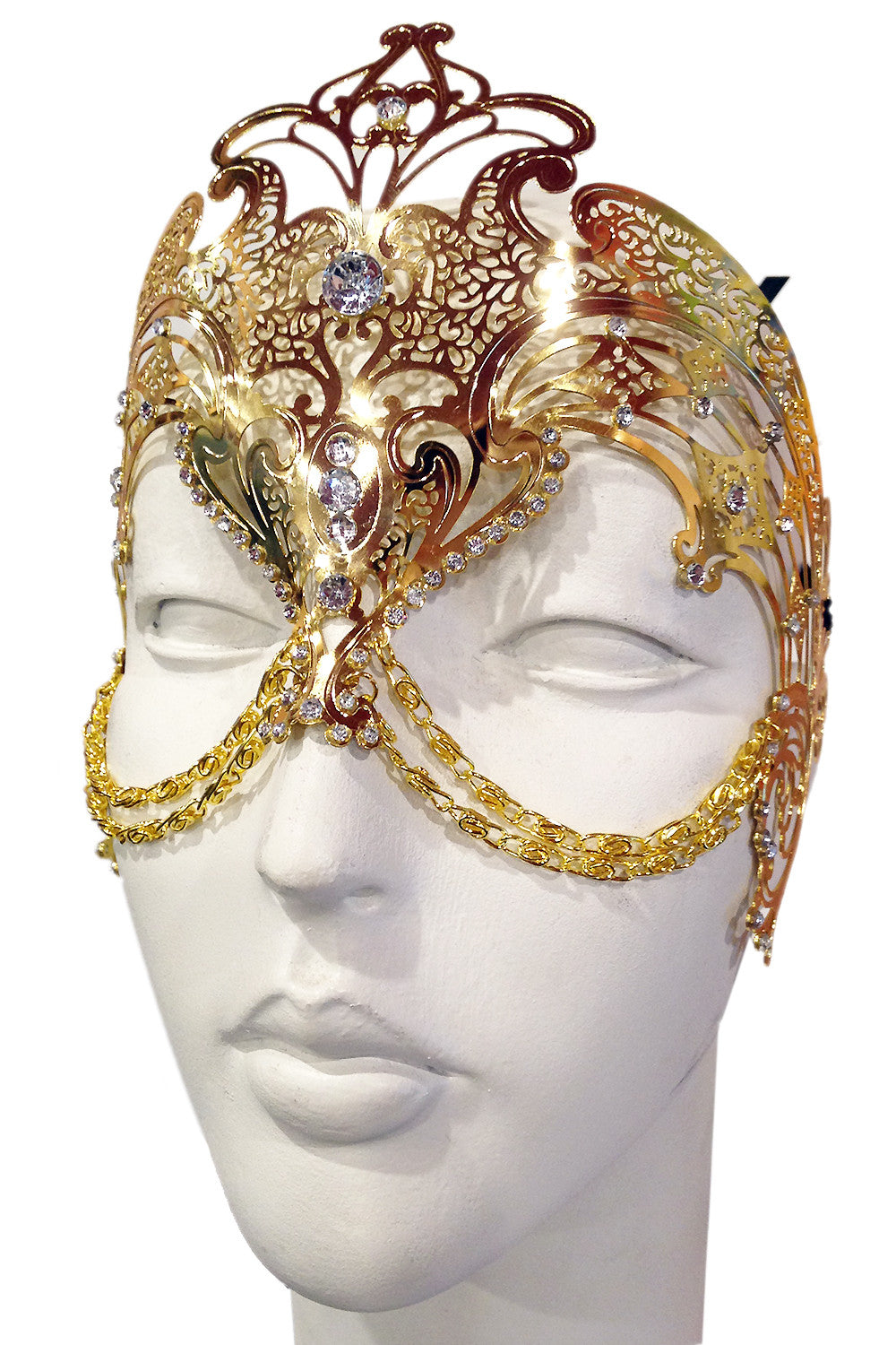 Gold Zamari Mask