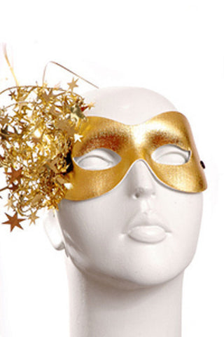 Gold Celebration Mask