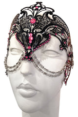 Black/Pink Zamari Mask