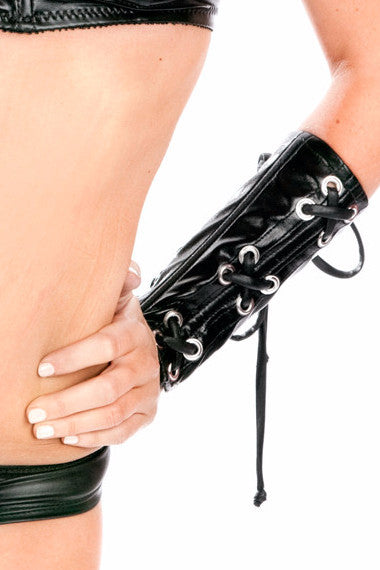 Toxic Lace-Up Bracers