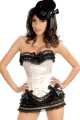 Carousel Lace-Up Corset